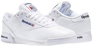 4462edc296b Reebok Men s Ex-O-Fit Lo Clean Logo Int Gymnastics Shoes Intense White Royal