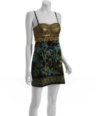 Free People turquoise velvet 'Lost in Paradise' convertible dress