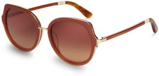 Lottie Spice Bronze Double Gradient Mirror Lens