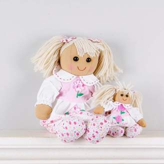 Little Ella James Set Of Two Mother And Daughter Daisy Rag Dolls