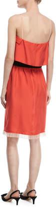 Marc Jacobs Textured Silk Popover Dress