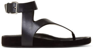 Isabel Marant Black Elwina Sandals