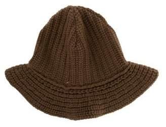 Ralph Lauren Cashmere and Wool Bucket Hat w/ Tags Brown Cashmere and Wool Bucket Hat w/ Tags