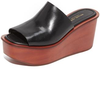 Michael Kors Collection Jane Flatform Slides $475 thestylecure.com