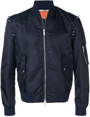 Valentino V-punk studded bomber jacket
