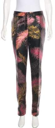 Emilio Pucci High-Rise Brocade Pants w/ Tags