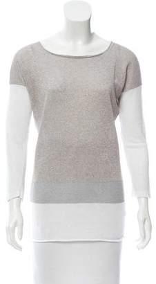 Fabiana Filippi Metallic Colorblock Sweater