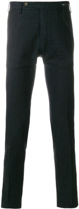 Pt01 straight-leg knitted trousers