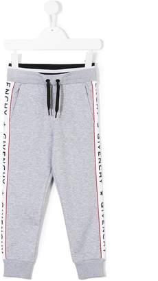 Givenchy Kids logo banded joggers
