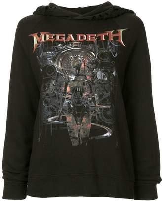 R 13 Megadeth Machina hoodie