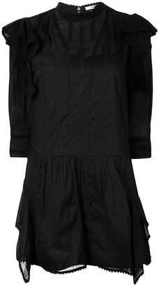 Etoile Isabel Marant embroidered short dress