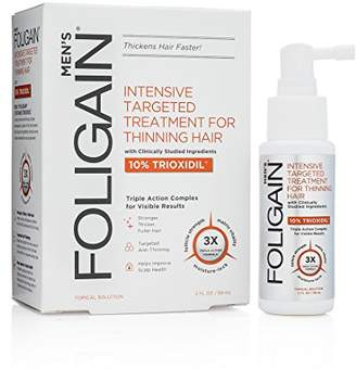 FOLIGAIN Intensive Targeted Treatment For Thinning Hair For Men with 10% Trioxidil (2oz) 59ml
