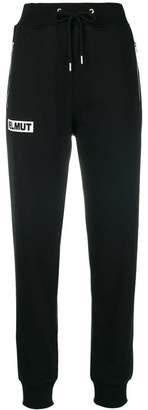 Helmut Lang box logo track pants
