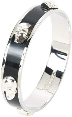 Alexander McQueen Black Metal Bracelet