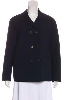 Donna Karan Double-Breasted Wool Jacket