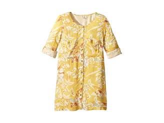 Roxy Kids Sun Is Shining Moss Dress (Big Kids)