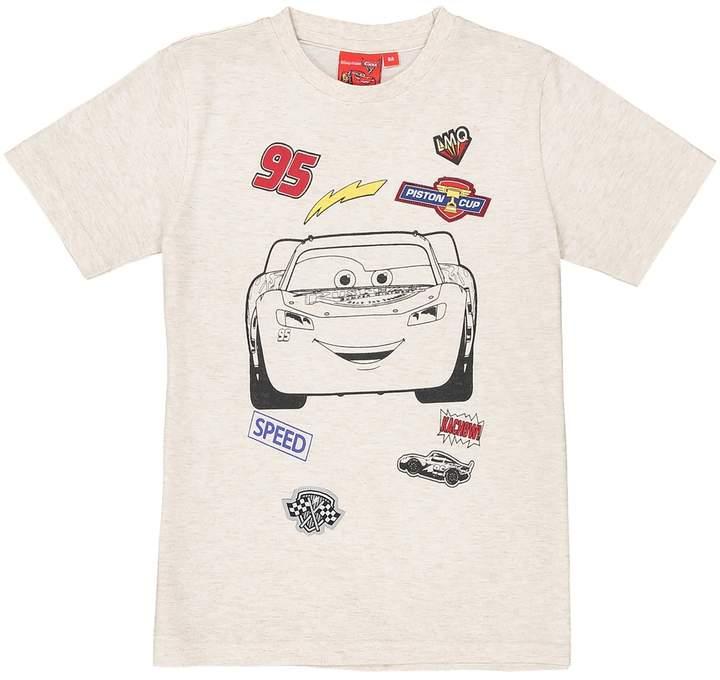Plain Short-Sleeved Crew Neck T-Shirt