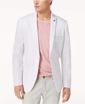 INC International Concepts I.N.C. Men's Slim-Fit Seersucker Blazer