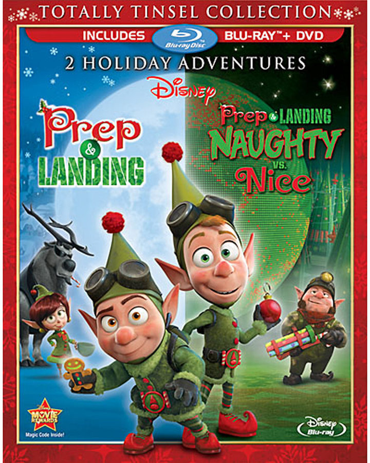 Prep & Landing: Naughty vs. Nice Blu-ray and DVD Combo Pack