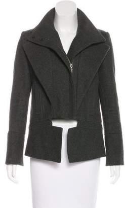 ICB Long Sleeve Wool Coat