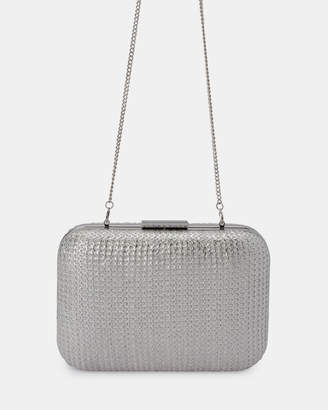 188c3be5fe8 Silver Sparkle Clutch Bag - ShopStyle Australia