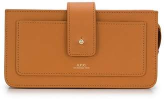 A.P.C. top zip wallet