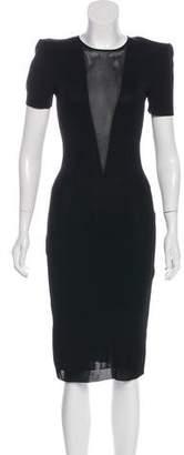 Alexander McQueen Structured Bodycon Dress