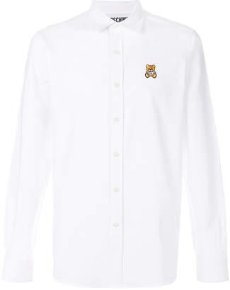 Moschino teddy bear embellished shirt