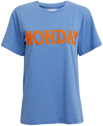 Alberta Ferretti Monday Blue T-Shirt