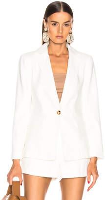 Frame Classic Fine Blazer in Off White | FWRD