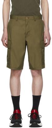Helmut Lang Tan Aviator Shorts