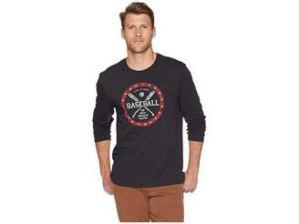 Life is Good American Pastime Long Sleeve Smooth T-Shirt