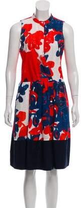 Sara Roka Sleeveless Eyelet Knee-Length Dress w/ Tags