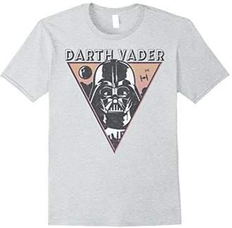 Star Wars Darth Vader Retro Reversed Triangle Badge T-Shirt