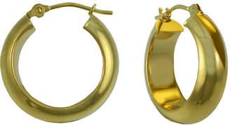 JCPenney FINE JEWELRY 14K Gold Thick Hoop Earrings