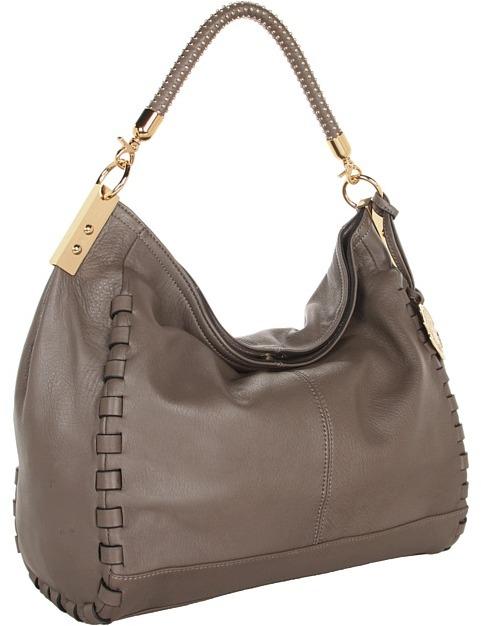 Vince Camuto Kat Satchel (Washed Brown) Satchel Handbags