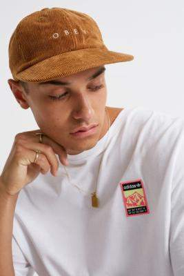 Obey Approach Brown 6-Panel Cap - brown at Urban Outfitters