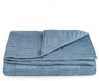 Hotel Collection Colonnade Indigo Quilted Coverlet