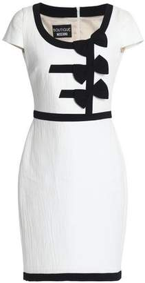 Moschino Cotton-Blend Jacquard Mini Dress