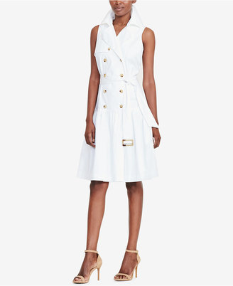 Lauren Ralph Lauren Trench Dress $145 thestylecure.com