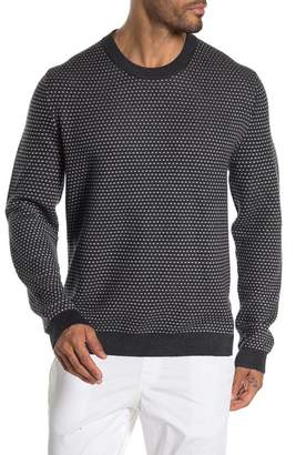 Ted Baker Textured Knit Crew Neck Sweater
