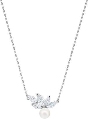 Swarovski Louison Crystal & Imitation Pearl Pendant Necklace
