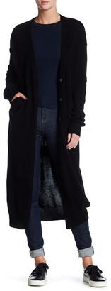 Inhabit Wool Blend Long Cardigan $473 thestylecure.com