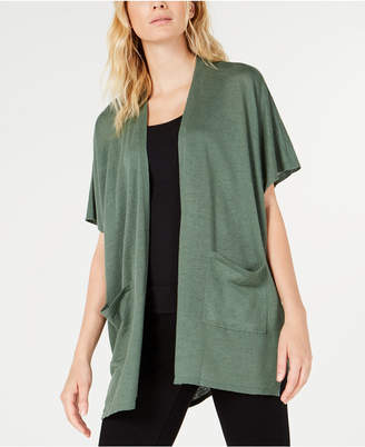 Eileen Fisher Organic Open-Front Cardigan