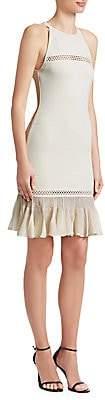 Roberto Cavalli Women's Peplum Hem Knit Dress