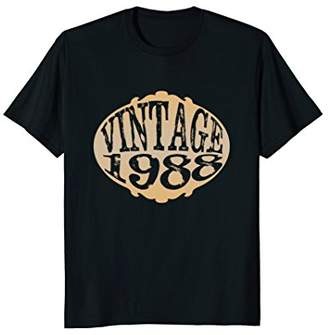 Vintage 1988 30th Birthday Shirt