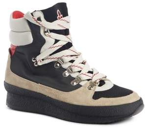 Isabel Marant Brendta High Top Sneaker Boot