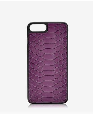GiGi New York Iphone 7 Plus Hard-Shell Case In Acai Embossed Python