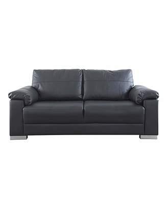 black leather and chrome sofa shopstyle uk rh shopstyle co uk