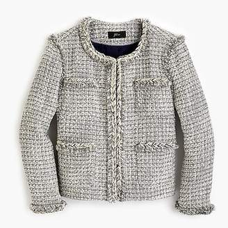 J.Crew Lady jacket in metallic tweed